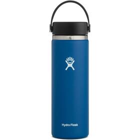 Hydro Flask Wide Mouth Bidón con Tapa Flex 591ml, azul